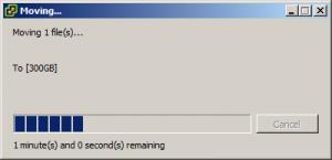 انتقال VPS به هارد دیگر VMware Esxi