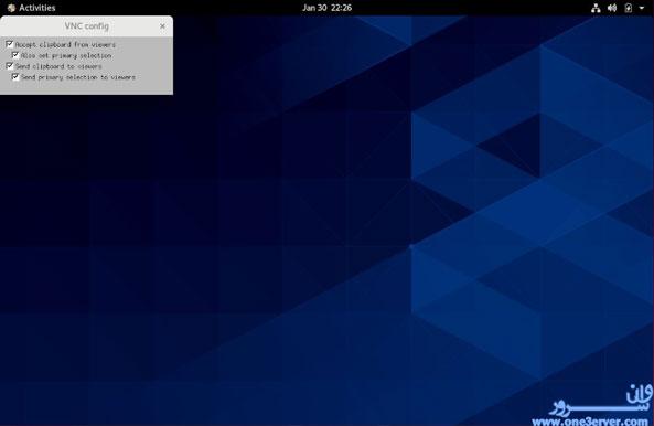 آموزش نصب و پیکربندی VNC در CentOS 8