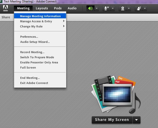 آموزش دانلود کلاس ضبط شده در ادوب کانکت (Adobe Connect)