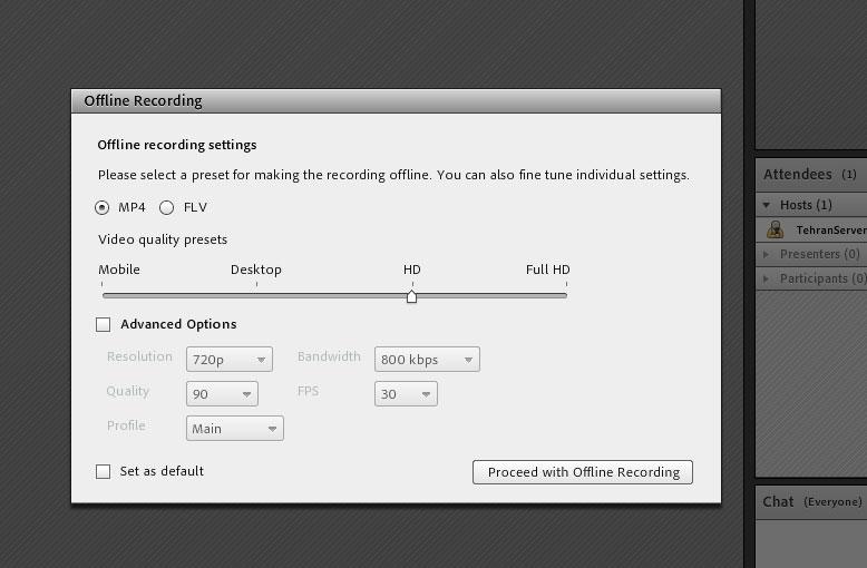 آموزش دانلود کلاس ذخیره شده در ادوب کانکت (Adobe Connect)