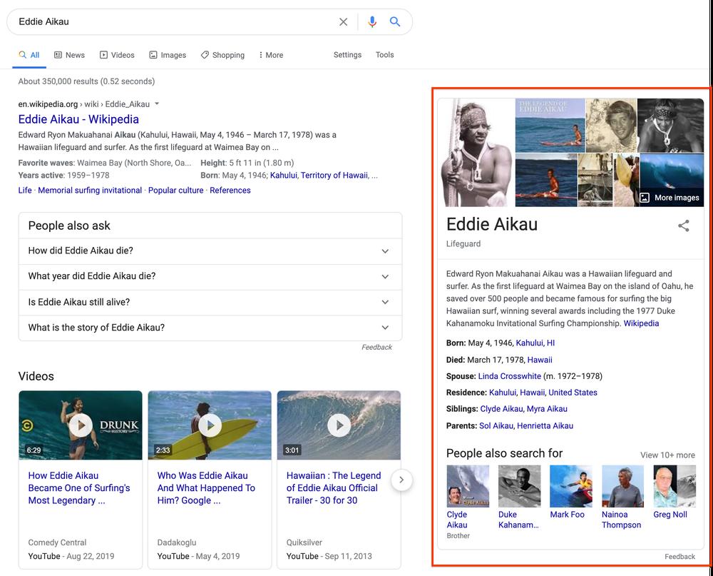 پنل دانش گوگل (Knowledge Panel) چیست؟